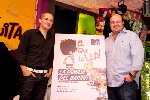 Arturo Navarro y Sergio Lebrija